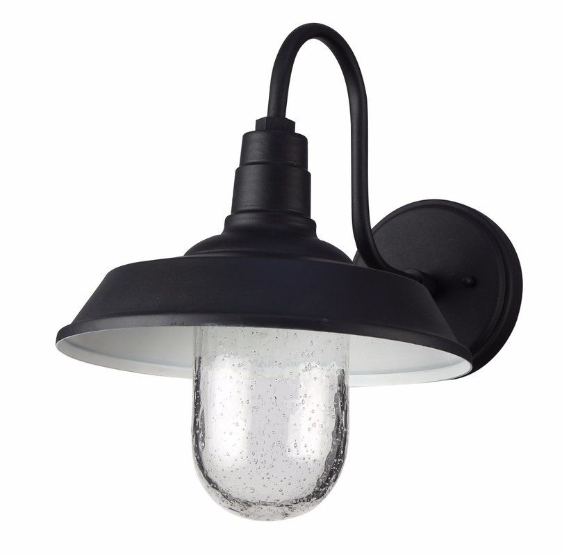 Burney Black 1 Bulb Led Outdoor Barn Light Outdoor Barn Lighting Barn Lighting Outdoor Wall Lamps