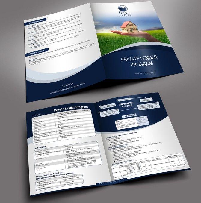 Create A Marketing Brochure For A Lending Program By Design
