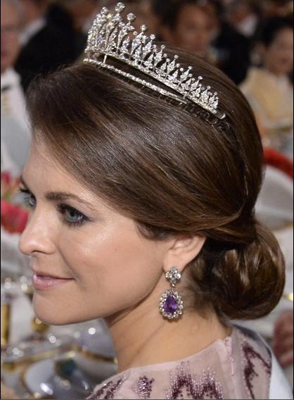 12-10-14...Queens & Princesses: ceremony nobels prices, Stockholm... Princess Madeleine of Sweden