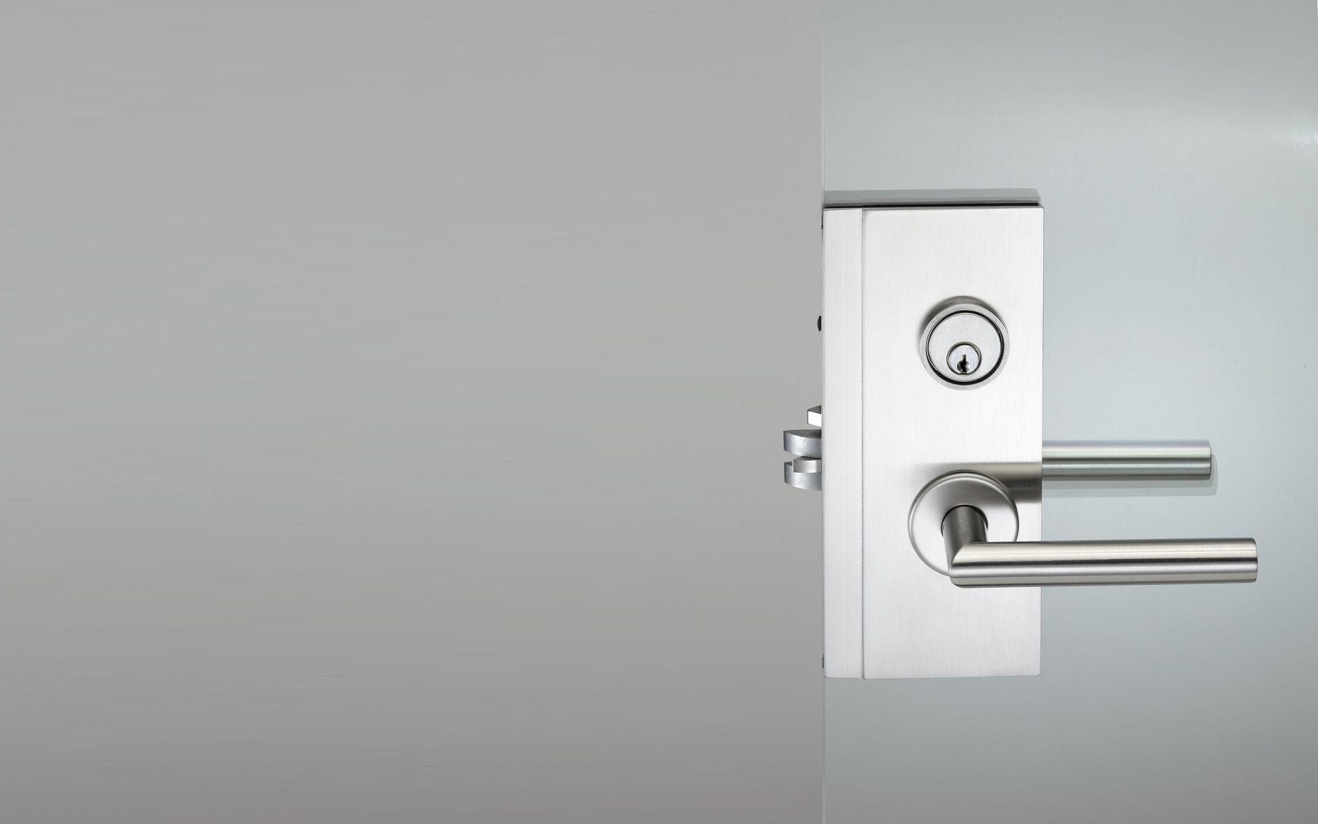 Pba Stainless Steel Mortise Lock Case For Glass Doors