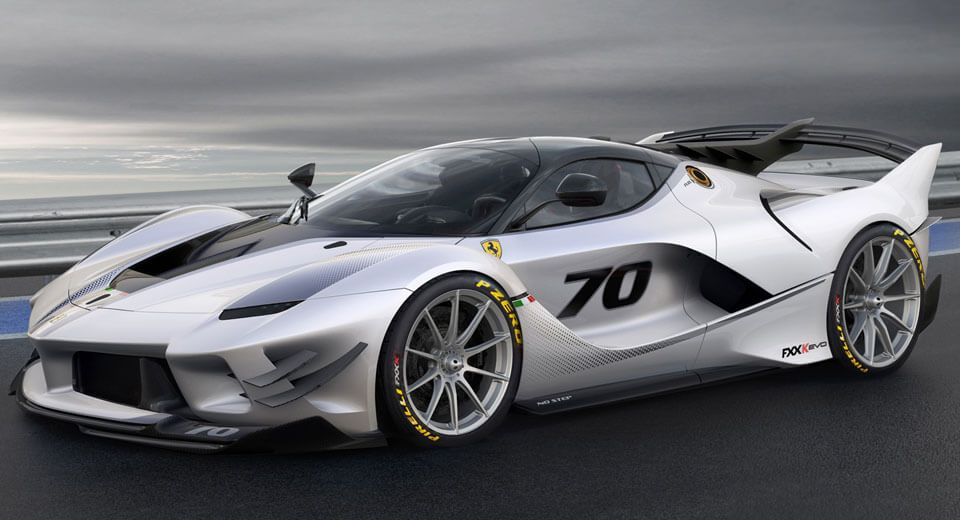 Ferrari Fxx K Evo Glues To Mugello With 23 More Downforce Carscoops Ferrari Fxxk Ferrari Fxx Sports Cars Luxury