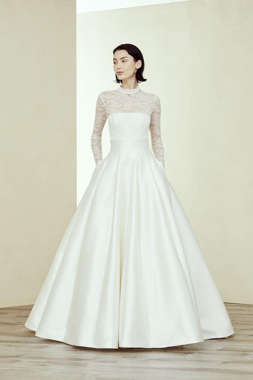 Saida Amsale Wedding Dress Ball Gowns Wedding Wedding Dress With Pockets