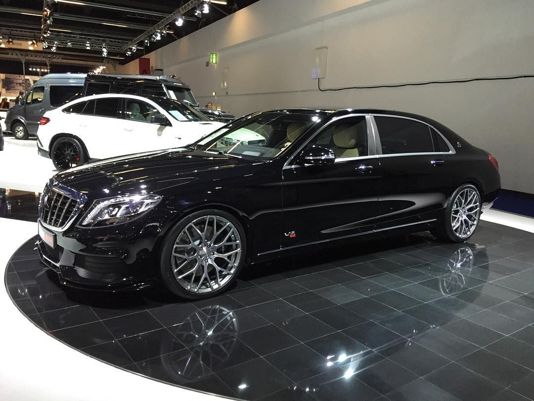 Brabus 900 horsepower maybach with new monoblock y for Platinum mercedes benz