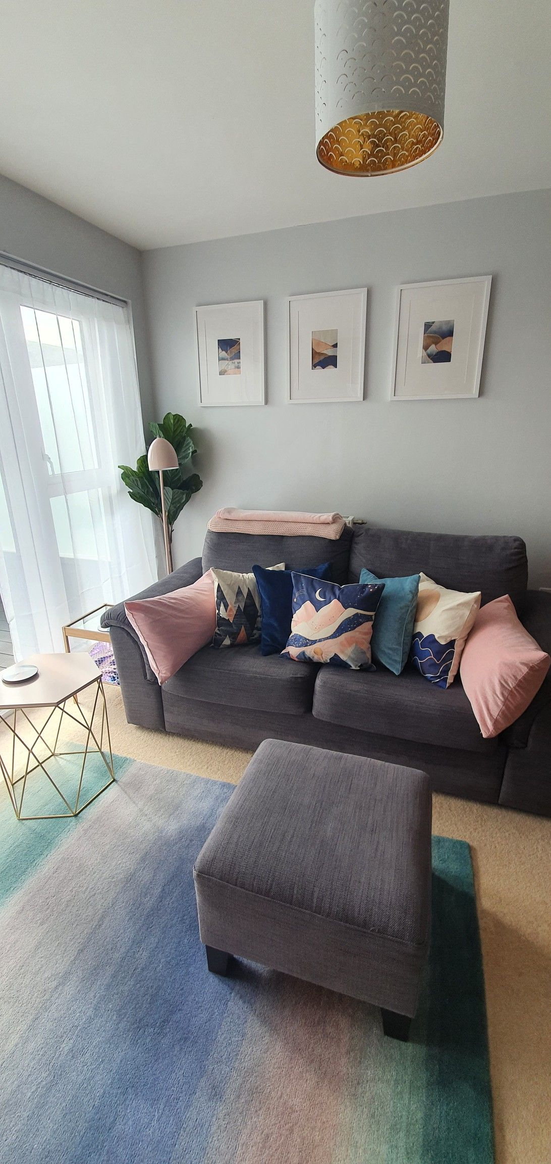 Mermaid Lounge Pink Blue Turquoise In 2020 Blue And Gold Living Room Blue Accents Living Room Gold Living Room #turquoise #and #gold #living #room