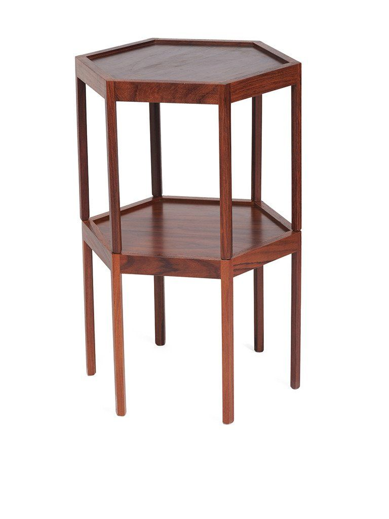 Rosewood Danish Side Tables Designed By Hans Anderson And Produced By Artex.