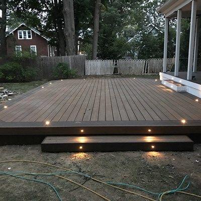Pin On Decked Backyard