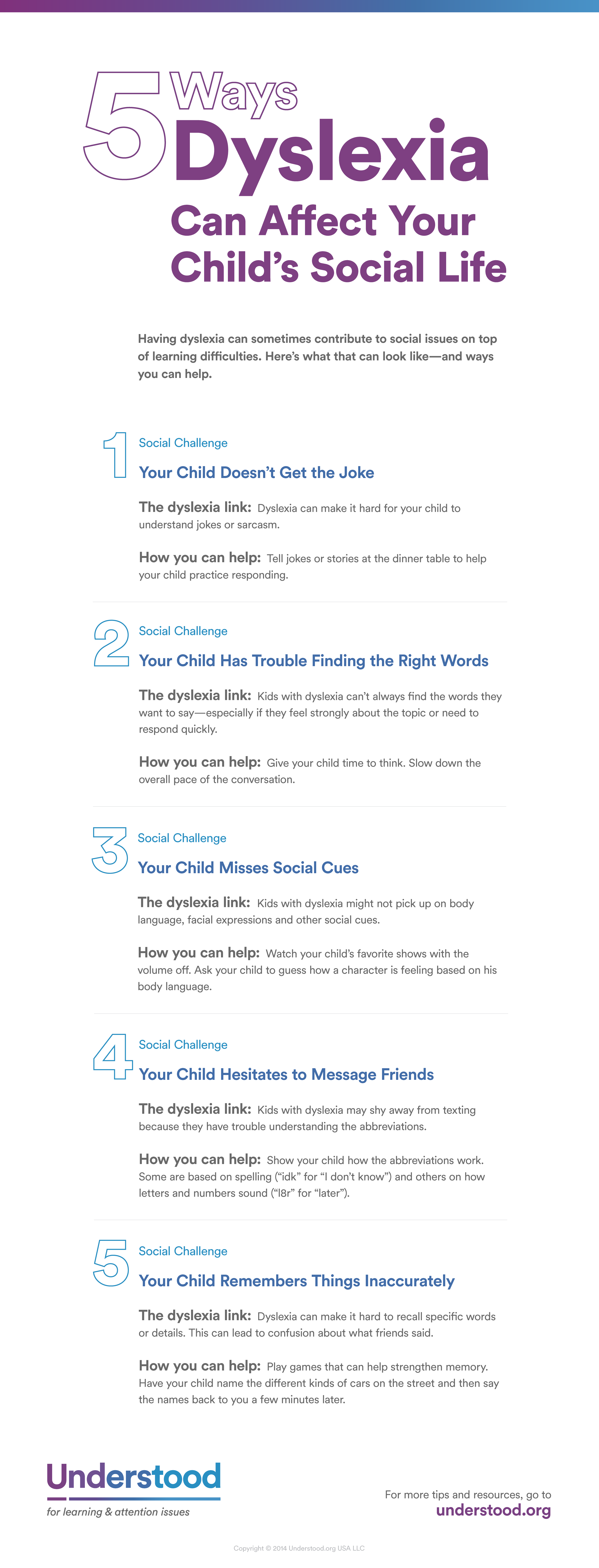 5 Ways Dyslexia Can Affect Your Child's Social Life | Lesson