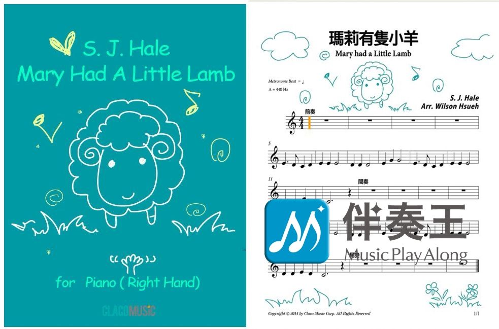 【Music and its History】 Mary Had a Little Lamb :This famous children song were inspired by an real story.   Little Lamb Baaaaa http://goo.gl/t7lEMj  Winodws App : http://goo.gl/BavOnV  iOS App : http://goo.gl/ouNmte