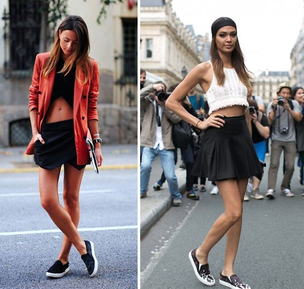 Spring 2014 Trend: Slip-On Sneakers #SS14 #streetstyle #sneakers