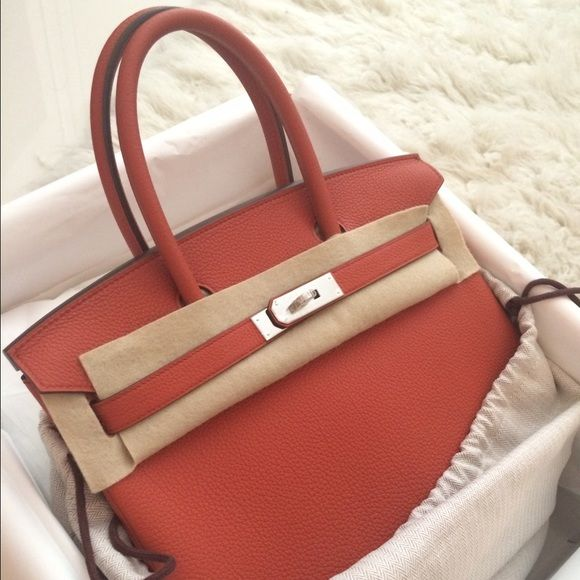 9b5fc75645 NEW HERMES BIRKIN 30 TOGO PHW 2016 new color  Terre Battue. Birkin 30 brand  new day with box shopping bag and receipt. Hermes Bags Totes