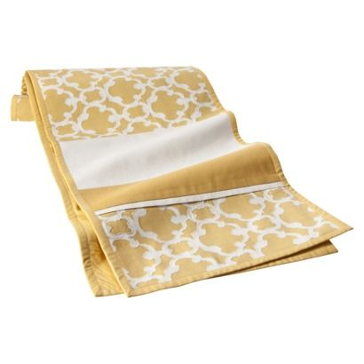 Yellow Lattice Table Runner.Opens In A New Window