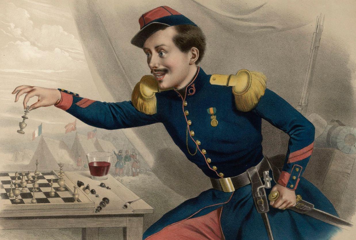 "Celestin Deshays - ""Jaque al Zar"" - 1854 (Guerra de Crimea)"