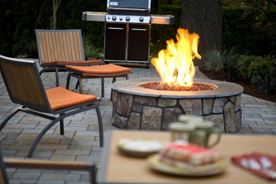 Great Outdoor Fireplace Designs Fire Pits And Fire Rings