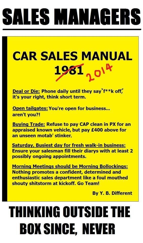 Car Sales Managers Everywhere Funny Quotes Pics Best Sales