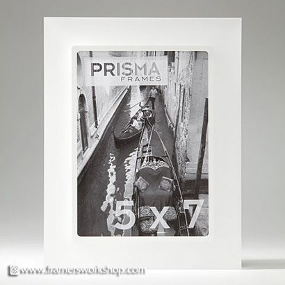 Prisma Photo Desk Frames: Perla (Sanded) Snow | Prisma Frames ...