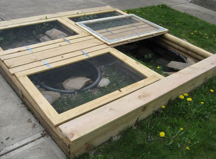 Homemade turtle tanks how to create pet turtle habitats at home diy pinterest turtle Diy indoor turtle pond