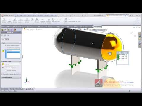 How To Make Tank With Solidworks | Solidworks Tutorial Simple