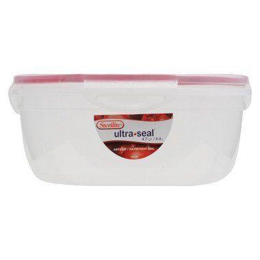 Sterilite Ultra Seal Bowl - 4.7 Quart by Sterilite. $5.85. Sterilite - Food Storage - Sterilite Ultra Seal Bowl