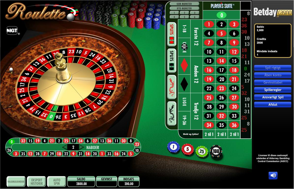 Det Helt Klassiske Roulette Spil Du Kender Spillet Du Kender