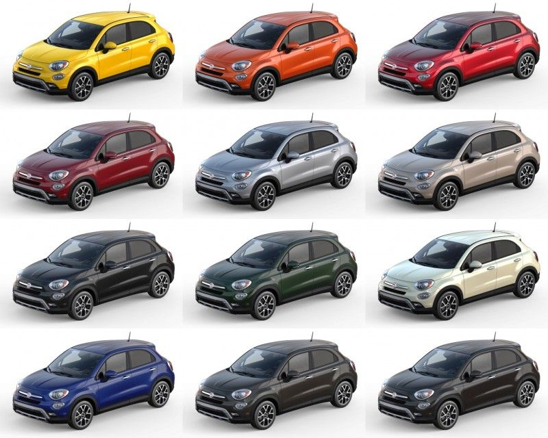 2016 Fiat 500x Pricing Colors And Real Life Photos Fiat Fiat