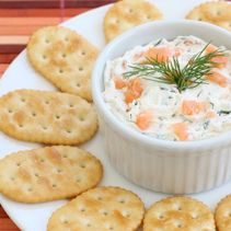 Cold Smoked Salmon Spread
