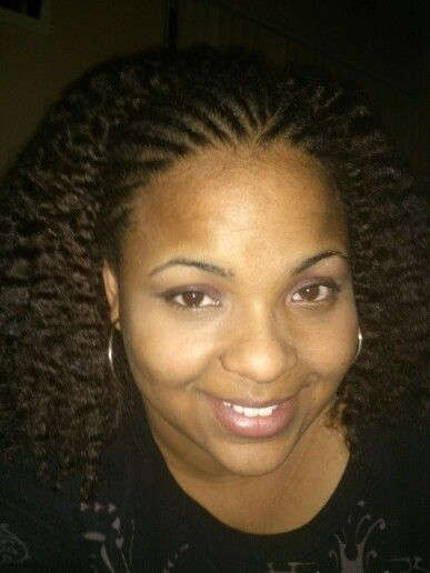 Braids and twist out!