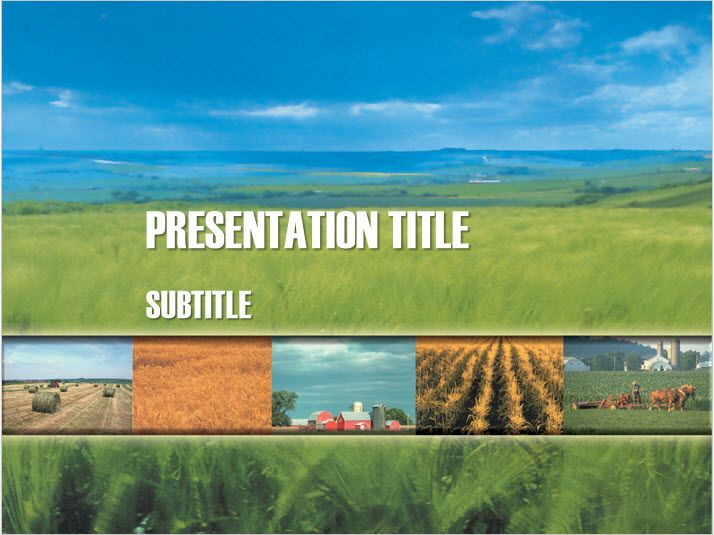 Agricultural theme presentation template free powerpoint template agricultural theme presentation template free powerpoint template toneelgroepblik Image collections