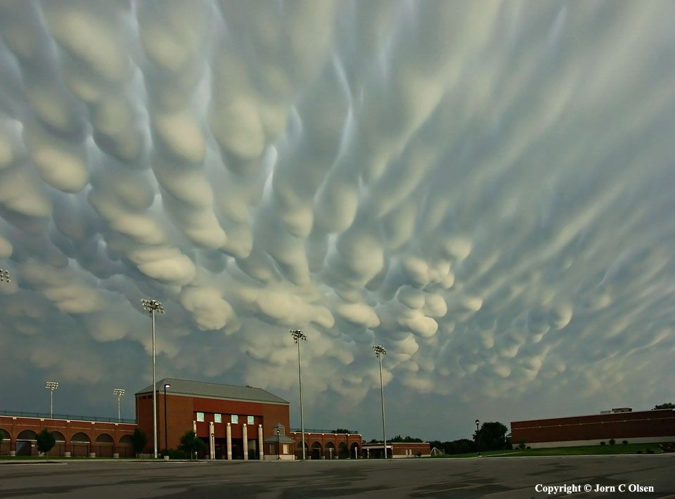 Mammatus Clouds over Nebraska --- Apr. 15 --- Image Credit & Copyright: Jorn Olsen Photography
