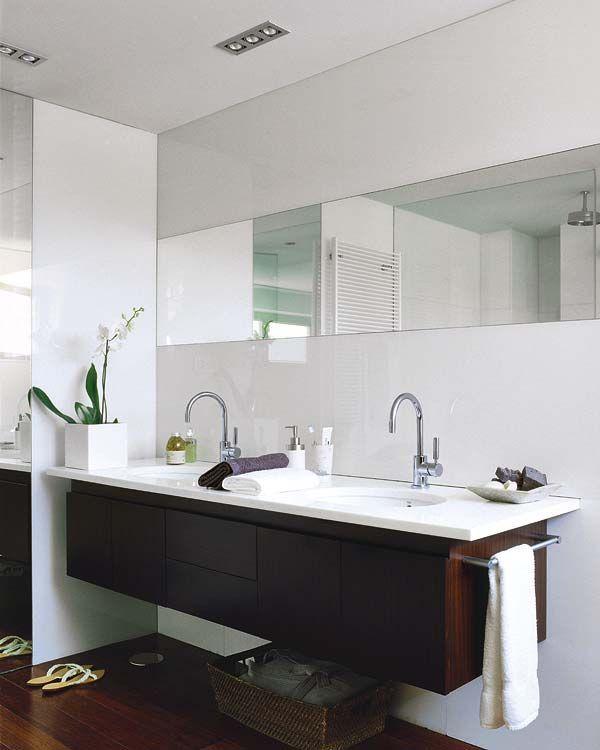 Un cuarto de baño acristalado | Muebles wengue, Cuarto de ...