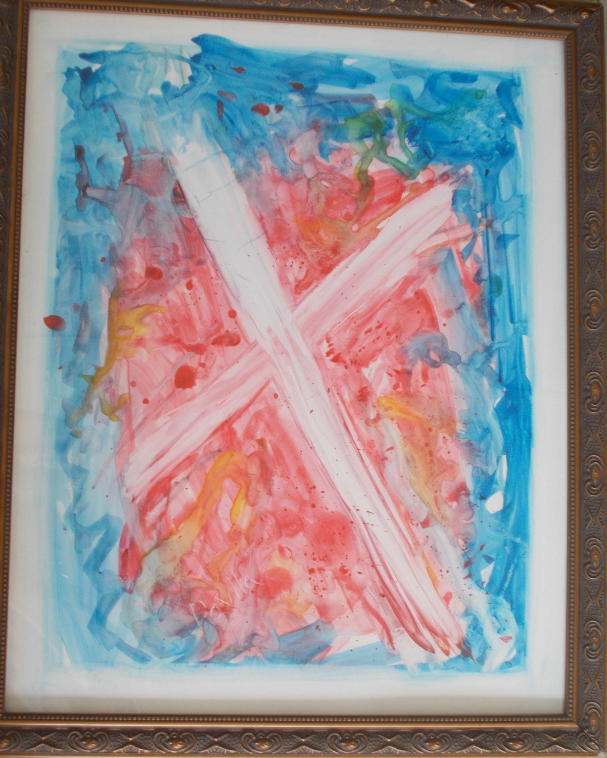 Original Freedom watercolor painting direct from Texas artist signed ...