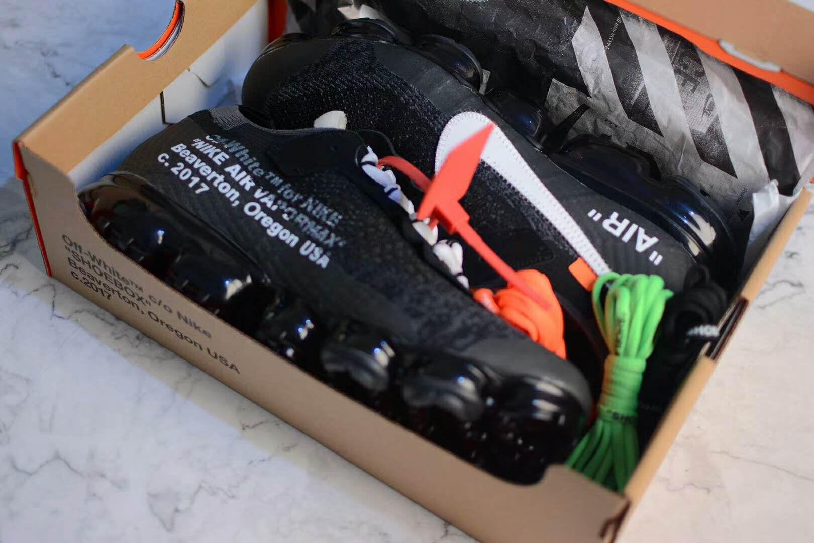 info for 3fe02 43710 Virgil Abloh OFF WHITE Nike The Ten AIR VAPORMAX AA3831-001 ...