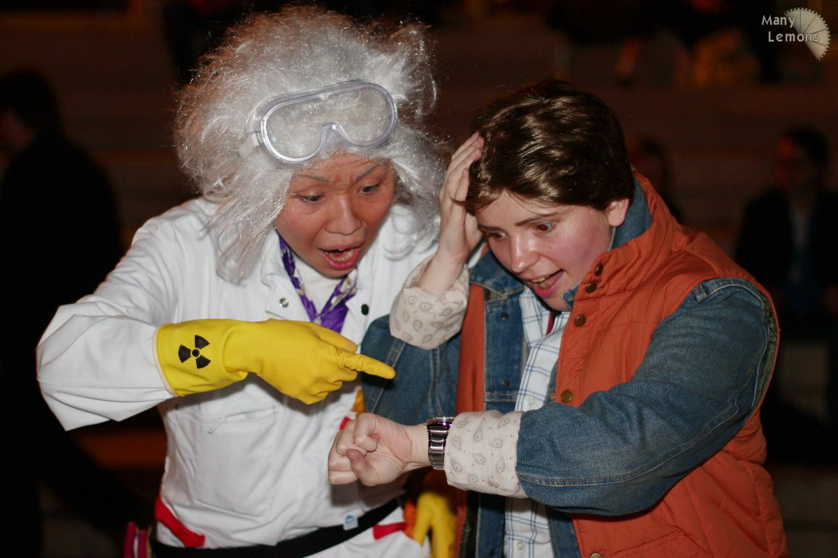 back to the future - doc browncostumes for 80's party