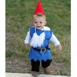 craft this cute garden gnome costume for kids #gnomecostume