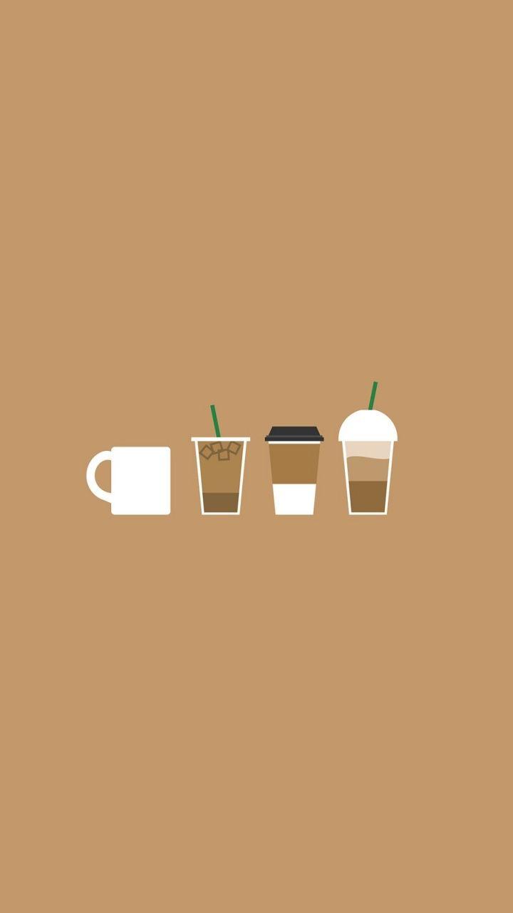 Coffee Illustration Google 搜尋 壁紙 Iphone壁紙