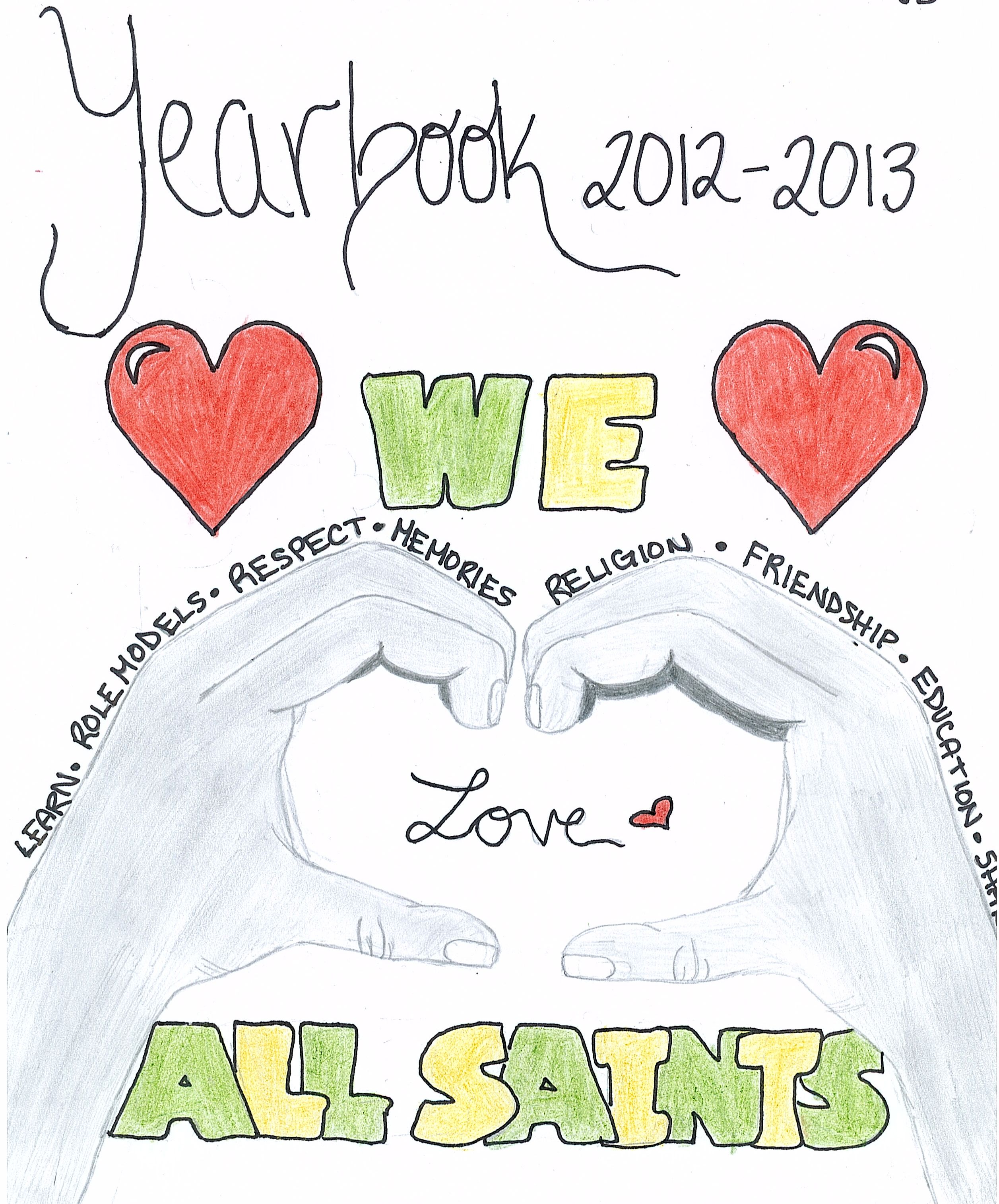 Image Result For Catholic School Yearbook Cover