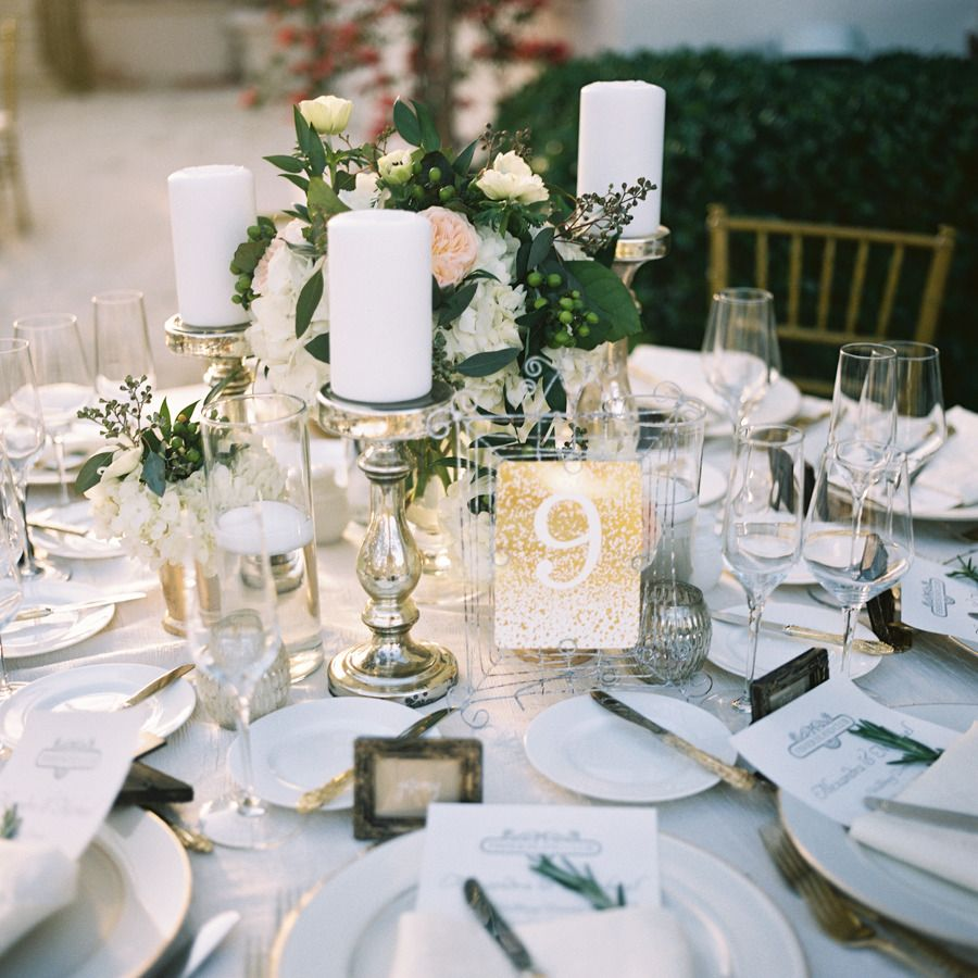 Southern Wedding Decoration Ideas: Elegant Fisher Island Wedding