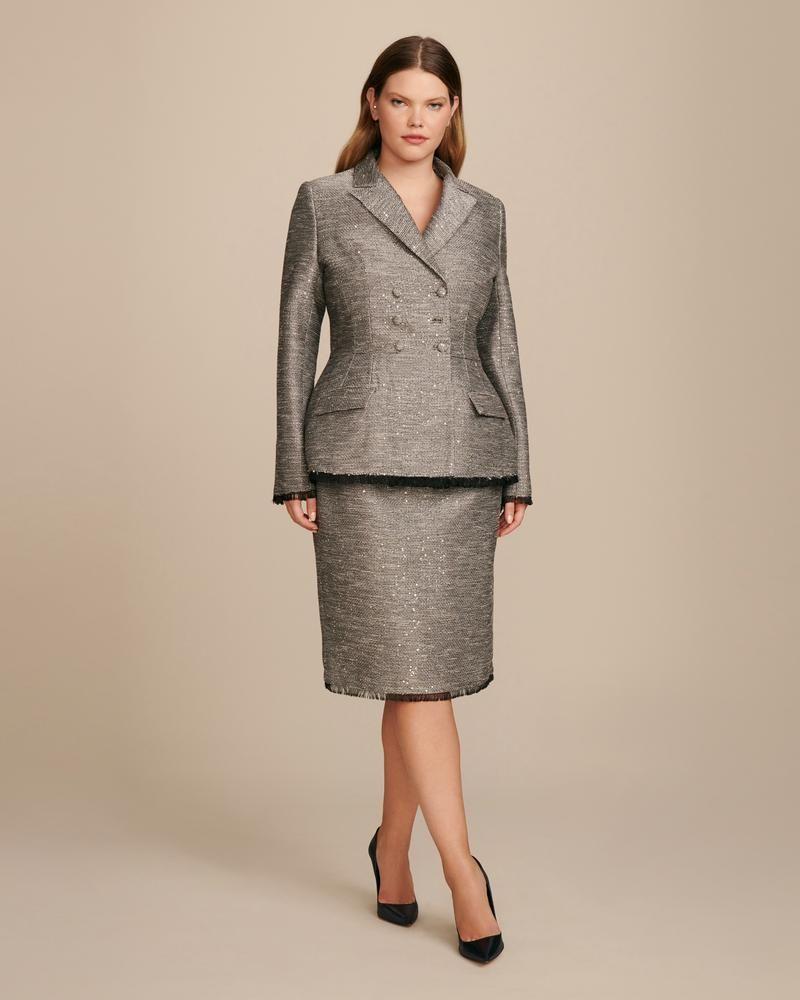 e8e4c6ea1f Designer Plus Size Clothing, Fat Fashion, Tweed Fabric, Dress For You,  Hemline
