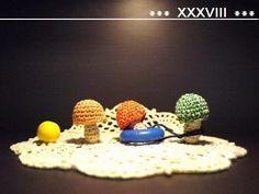 きのこのあみぐるみの作り方|編み物|編み物・手芸・ソーイング|アトリエ
