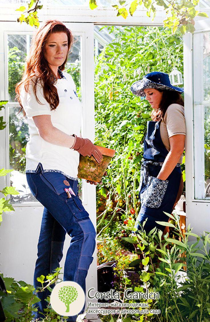 Photo of Фартук джинсовый для садоводов GardenGirl Denim Collection