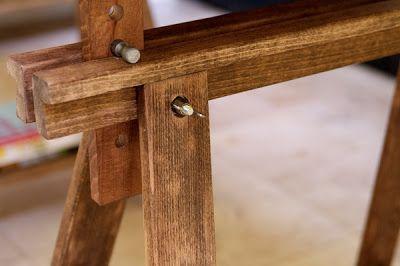 Construye una mesa rústica con caballetes - Guía de MANUALIDADES