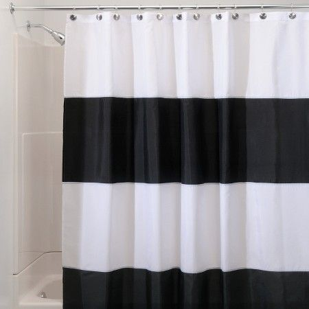 Interdesign Zeno Waterproof Polyester Shower Curtain Target