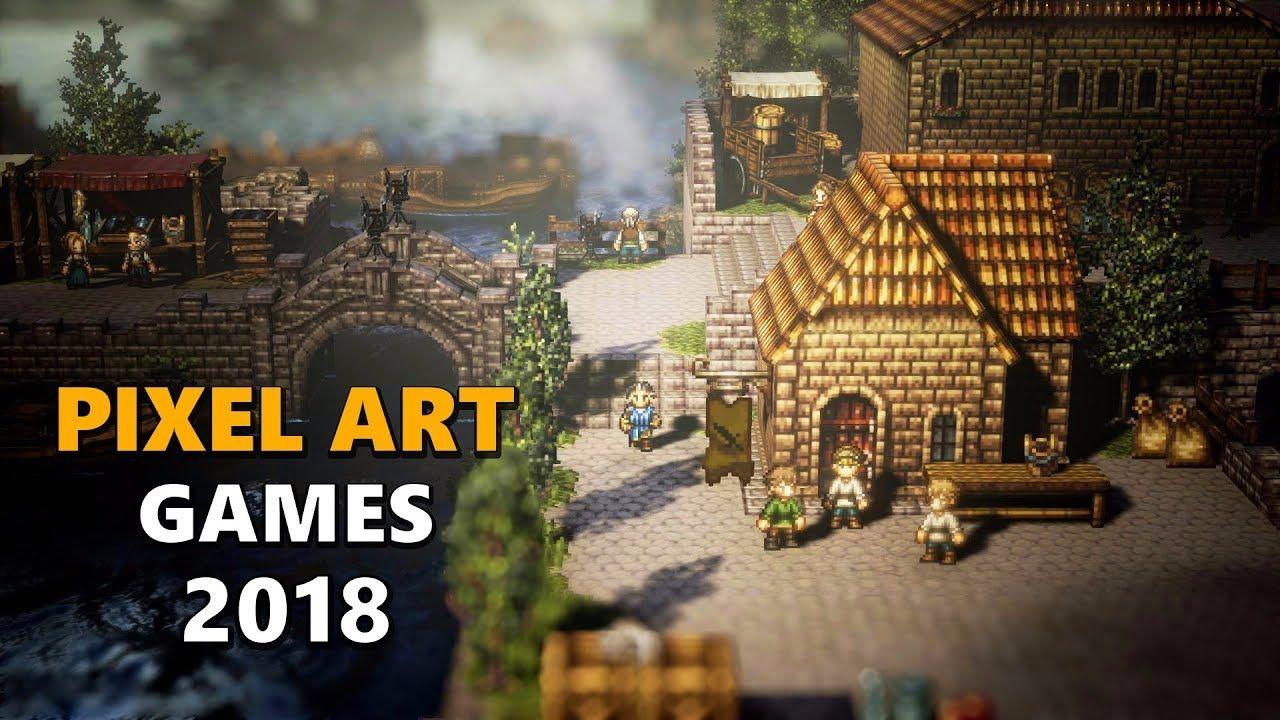 Top 10 Upcoming PIXEL ART Games 2018   Saved   Octopath