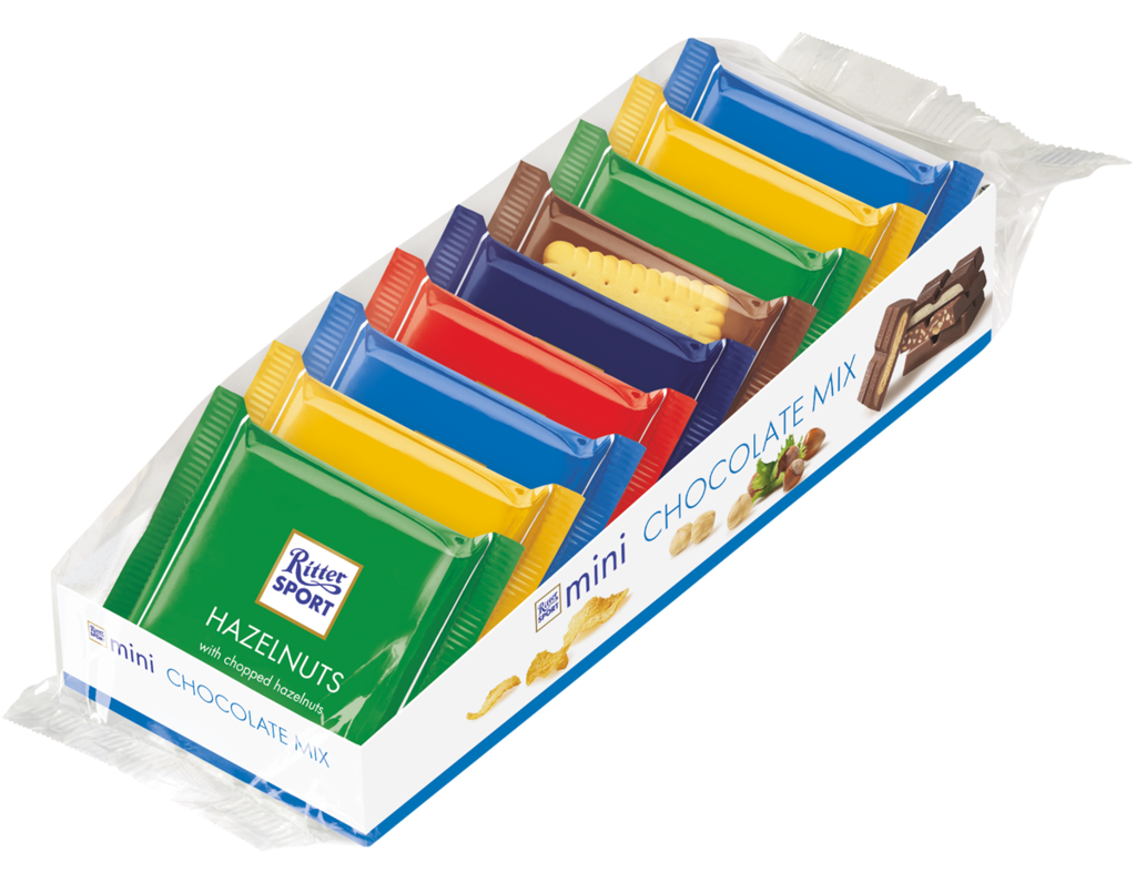 Ritter Sport Assorted Mini Chocolate Mix, 5.2 oz (150 g