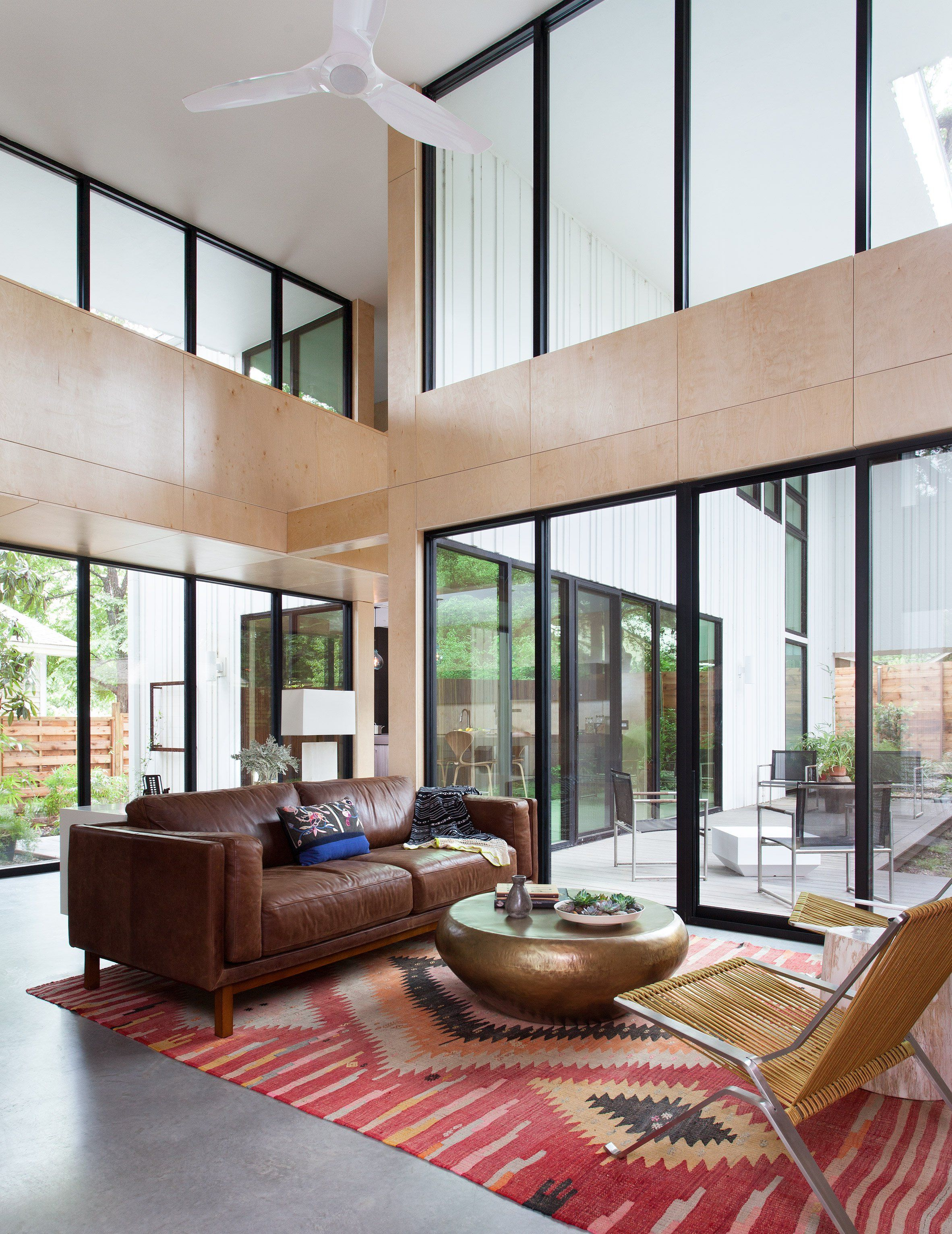 Us firm webber studio has covered the exterior of this - Interior design firms austin tx ...