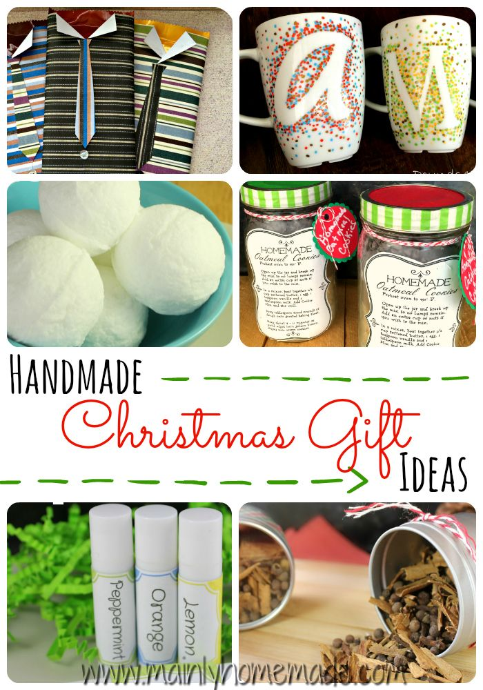 Receiving homemade Christmas gifts comes from the heart Create