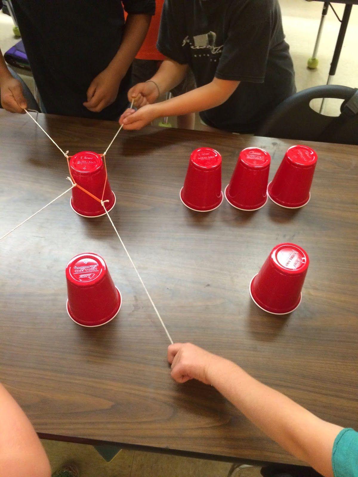 Ms. Sepp's Counselor Corner Teamwork Cup Stack Take 2