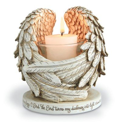 Cherub Angel Wings 3 Tea Light T Light Holder Candle Home Decoration Gift