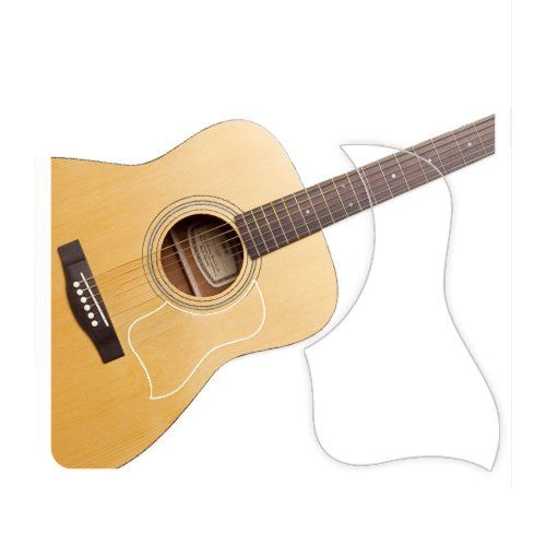 Healingshield Premium Acoustic Guitar Pickguard Style Type Clear Matt To View Further For This Item Visit The Image Link No Guitar Pickguard Acoustic Guitar