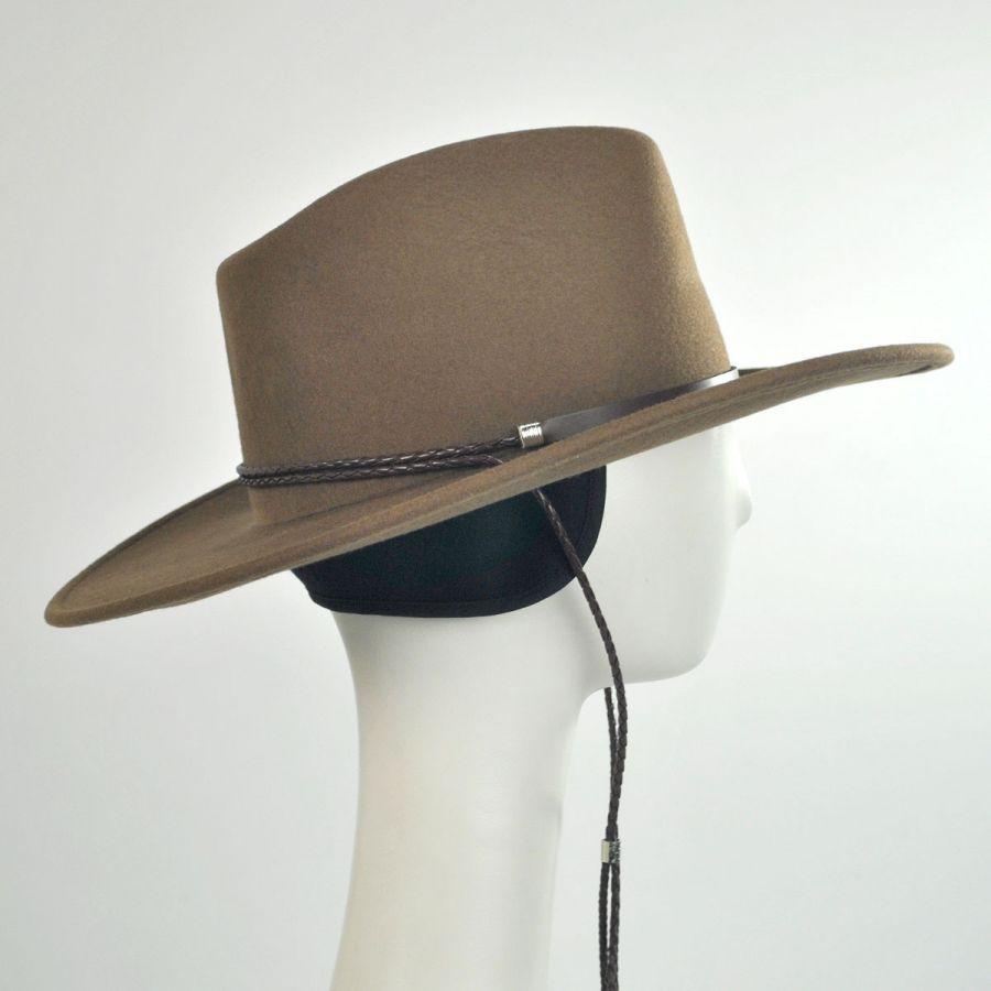 86e01212a1c4b Banner Ear Flaps Fedora Hat
