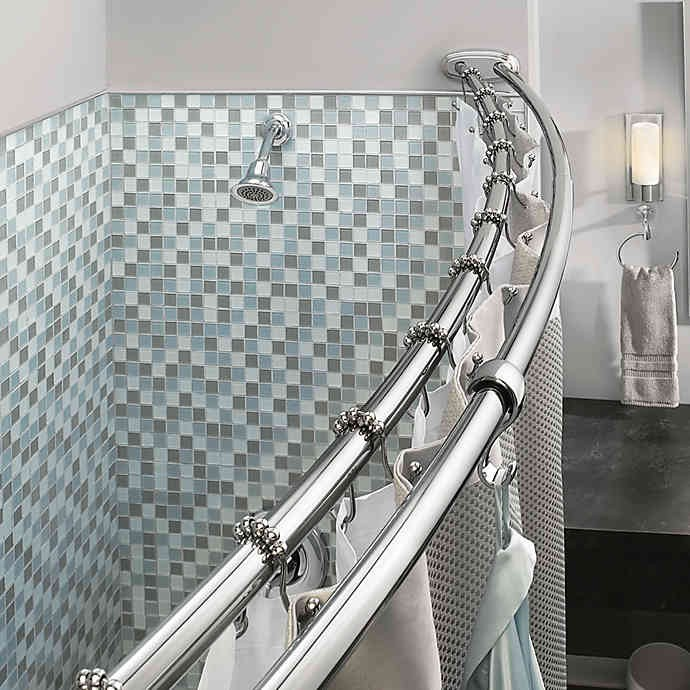 Pin On Shower Curtain Rods